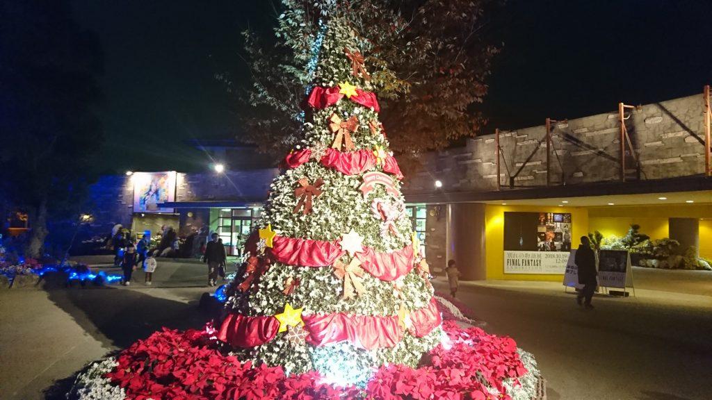 光の遊園地クリスマス