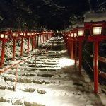 貴船神社の雪のライトアップ いつ開催?アクセスや混雑は?