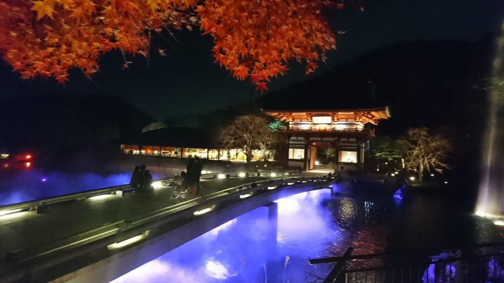 勝尾寺ライトアップ